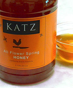 KATZ ALL FLOWER  HONEY - Large Tub