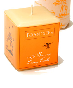 KATZ ORGANIC BEESWAX LUXURY CANDLE