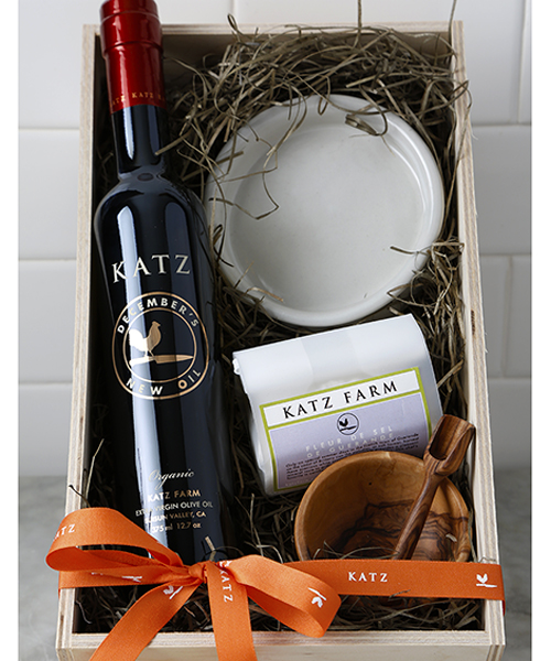 KATZ DECEMBER'S OIL HARVEST GIFT BOX - Back in December 2018