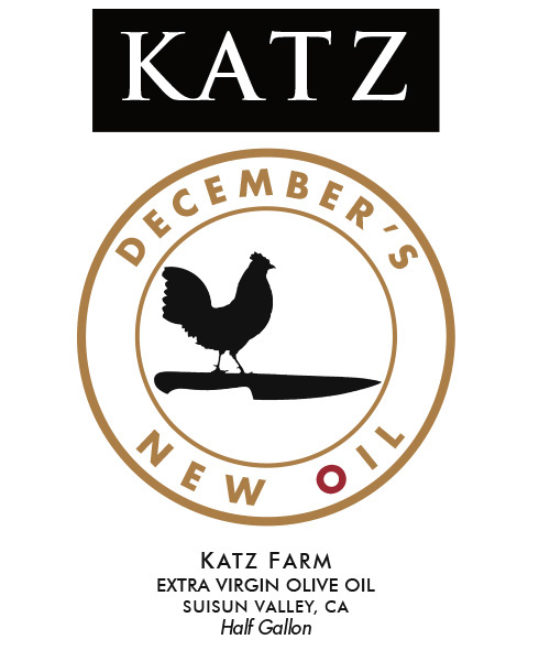 KATZ DECEMBER'S OIL ~ 1/2-GALLON ~ Sold Out!
