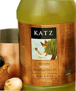 KATZ CHEF'S PICK ORGANIC  EVOO ~ 1/2-GALLON