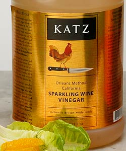 KATZ SPARKLING WINE VINEGAR ~ 1/2-GALLON