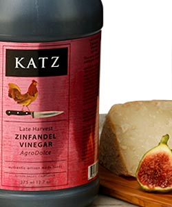 KATZ LATE HARVEST ZINFANDEL VINEGAR ~ 1/2-GALLON