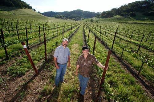 Albert & Jim In The Suisun Valley