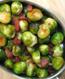 Roasted Brussels Sprouts With KATZ Late Harvest Sauvignon Blanc Agrodolce Vinegar