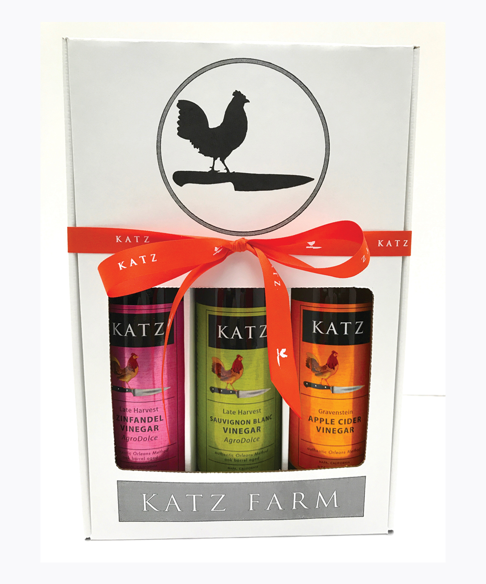 KATZ CARRIAGE HOUSE VINEGAR GIFT BOX