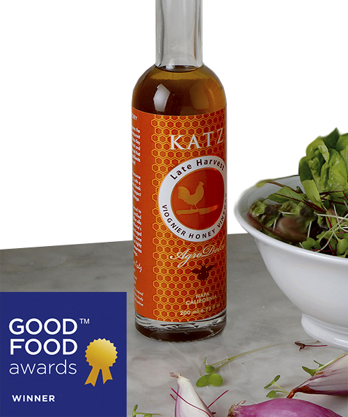 KATZ LATE HARVEST VIOGNIER HONEY VINEGAR