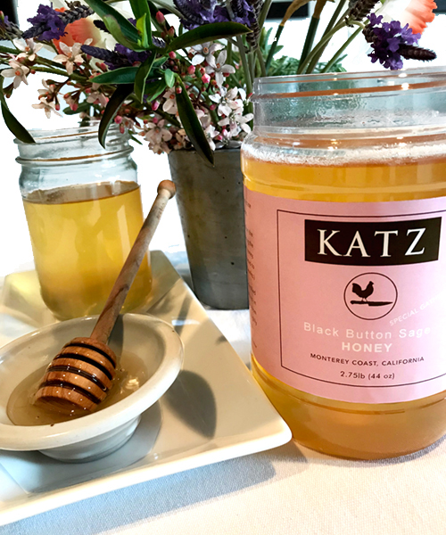 KATZ BLACK BUTTON SAGE HONEY - Large Tub