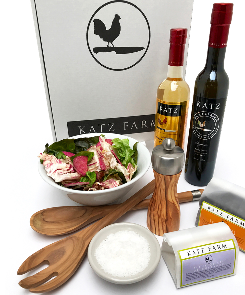 KATZ WELL APPOINTED SALAD GIFT BOX