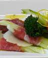 Prosciutto Wrapped Crudites w/KATZ Organic Meyer Lemon Oil