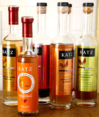A Few KATZ Farm Traditional Orleans Method Vinegars