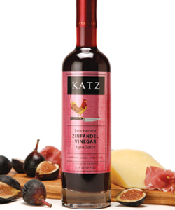 KATZ LATE HARVEST ZINFANDEL VINEGAR~ CASE