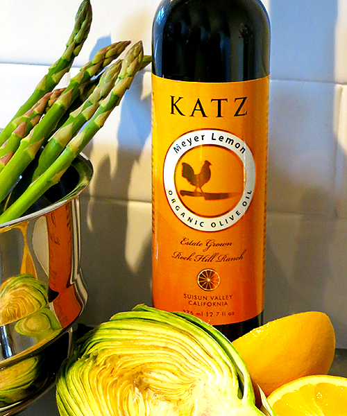 KATZ ORGANIC MEYER LEMON OLIVE OIL - New Harvest