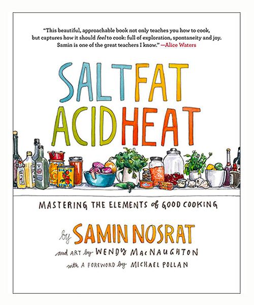 SALT FAT ACID HEAT COOKBOOK - Signed by the Author!