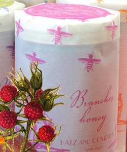 KATZ RASPBERRY FLOWER HONEY