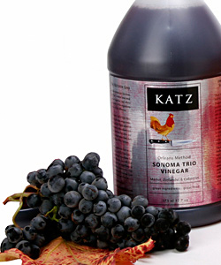 KATZ TRIO RED WINE VINEGAR ~ 1/2-GALLON