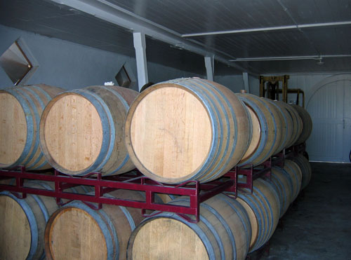 KATZ Suisun Valley Vinegar House - More Vinegar Barrels Aging