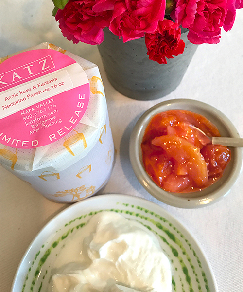 KATZ NECTARINE PRESERVES- Arctic Rose & Fantasia - Back Summer